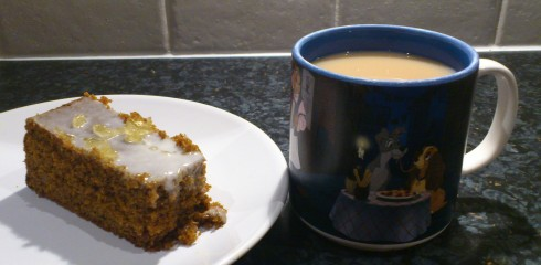 Cup of tea and piece of cake!
