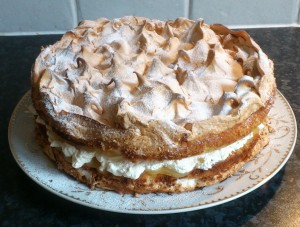 My cakes - Lemon Meringue Cake