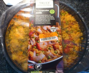 Reduced shelf paella bargain